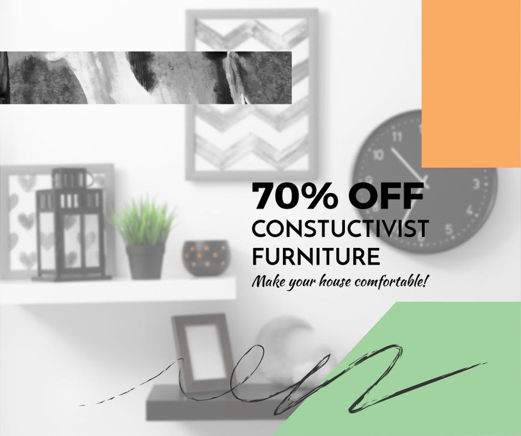 Constructivist furniture sale — Crea un design