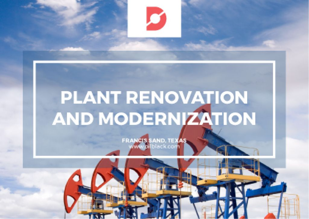 Plant modernisation with Construction Cranes — Crea un design