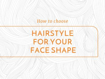 Hairstyle Tips Curly Lines Pattern | Presentation Template