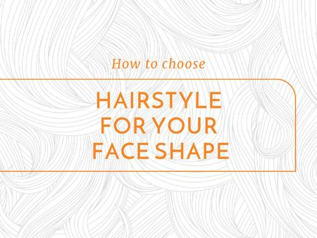 Modèle de visuel Hairstyle Tips with Curly Lines Pattern - Presentation