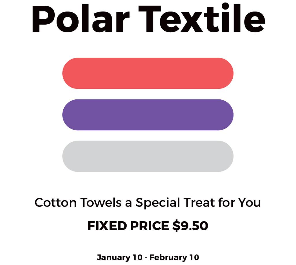Textile towels offer colorful lines — Crea un design