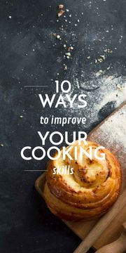 Cooking Skills courses with baked bun
