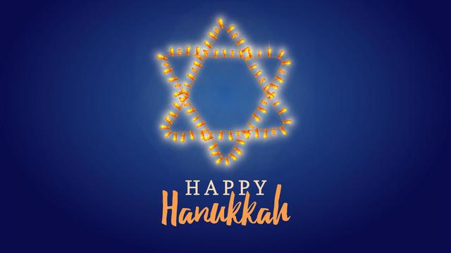 Szablon projektu Happy Hanukkah greeting Full HD video