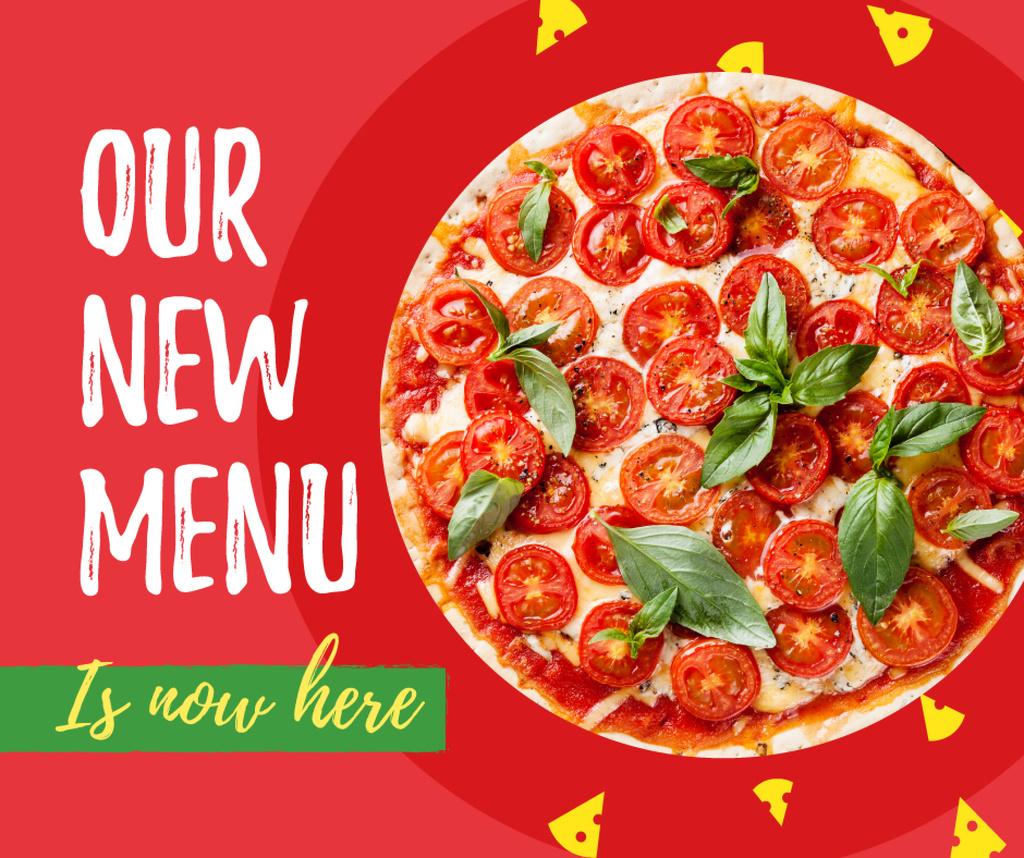 Delicious Italian pizza menu — Створити дизайн