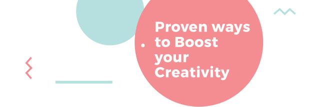 Ontwerpsjabloon van Twitter van Citation about proven Creativity