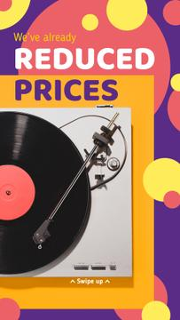 Modern vinyl player Sale