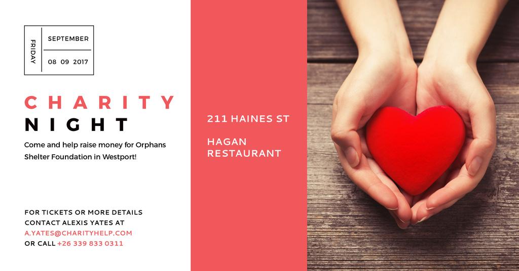 Corporate Charity Night Announcement — Créer un visuel