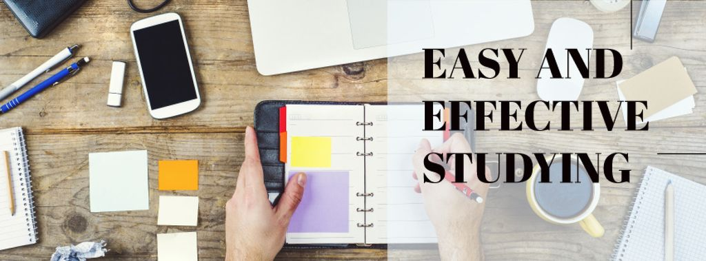 Easy and effective studying with Stationery and smartphone — Crea un design