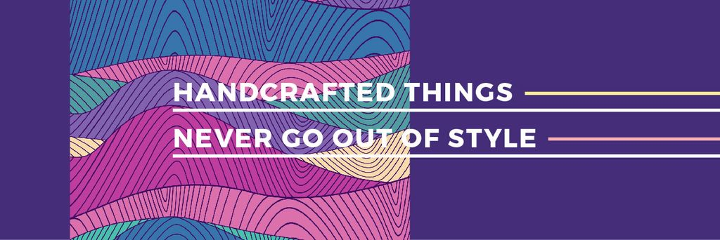 Citation about Handcrafted things — Create a Design