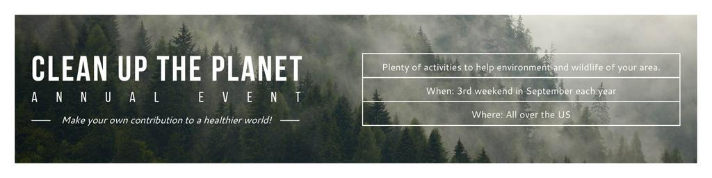 Clean up the Planet Annual event — Crear un diseño