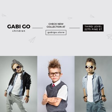 Plantilla de diseño de Children Clothing Store Instagram