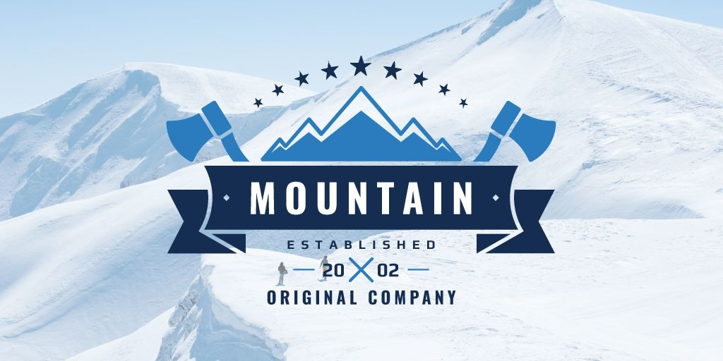 Mountain original company logo — Створити дизайн