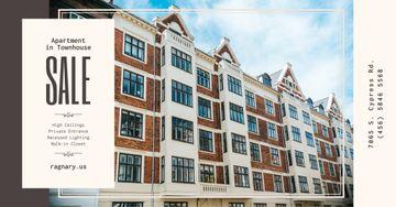 Real Estate Ad Modern House Facade