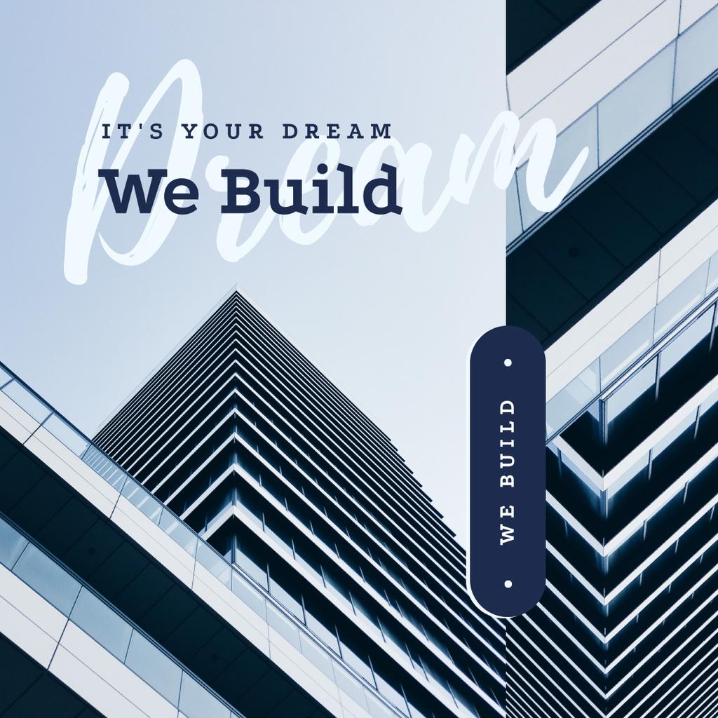 Modern glass building — Створити дизайн