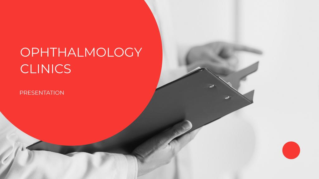 Ophthalmology Clinic Services ad — Créer un visuel