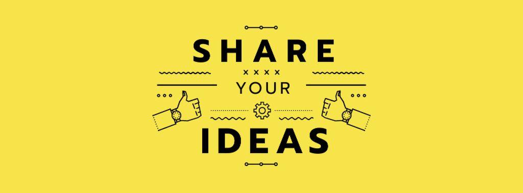 Business camp promotion icons in yellow — ein Design erstellen
