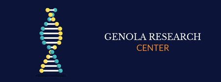Template di design Genola Research Center Facebook Video cover