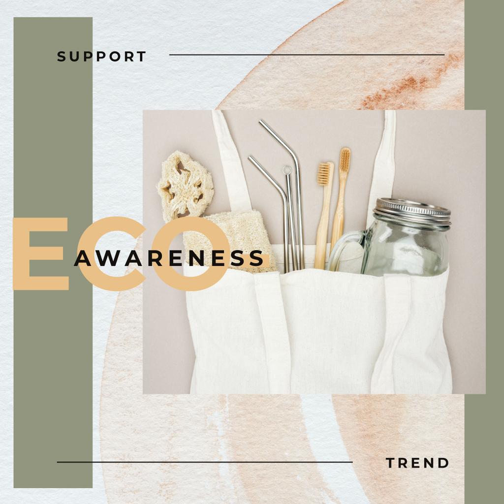 Eco-friendly Trend Sustainable Products — Créer un visuel