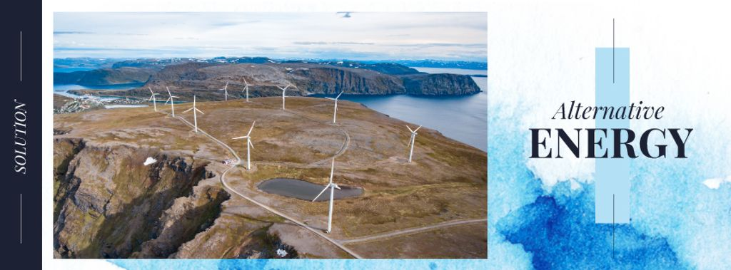Wind turbines farm — Crea un design