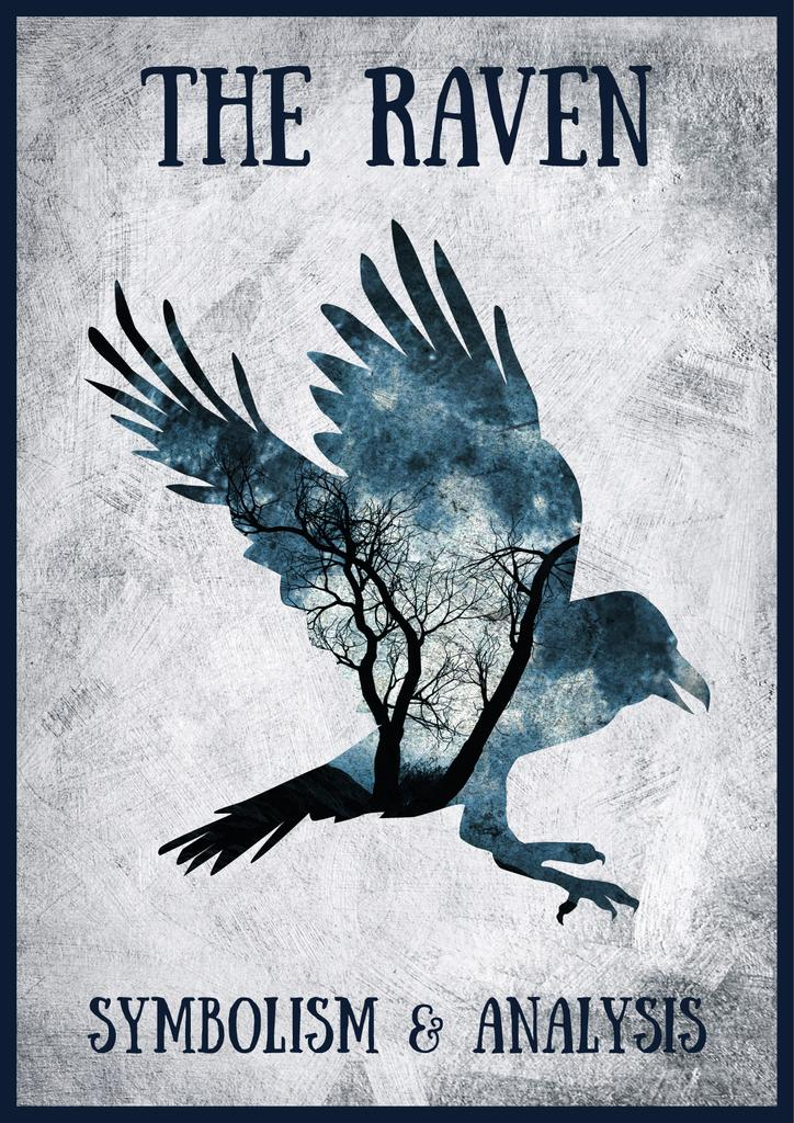 The Raven poster with bird — Modelo de projeto