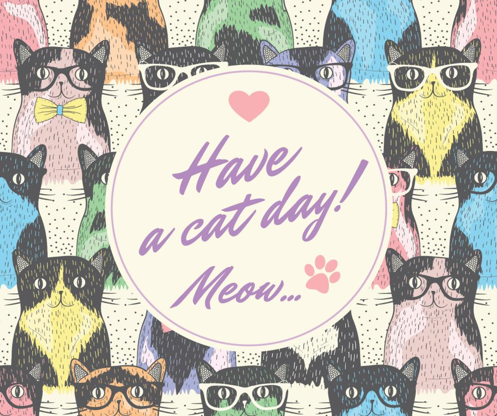 Have a cat day card — ein Design erstellen