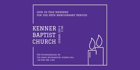 Template di design Kenner Baptist Church  Image