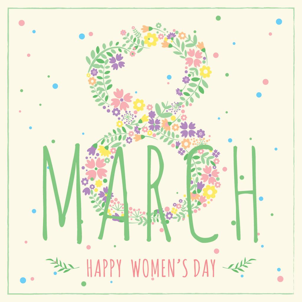 Women's day greeting card — Crear un diseño