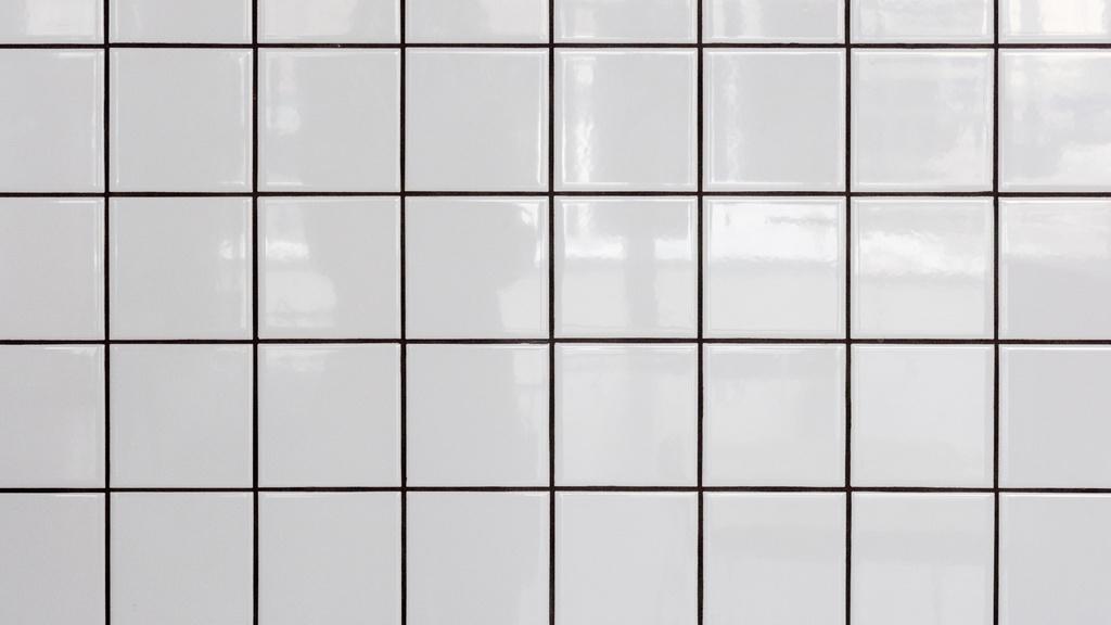 White tiled Wall — ein Design erstellen