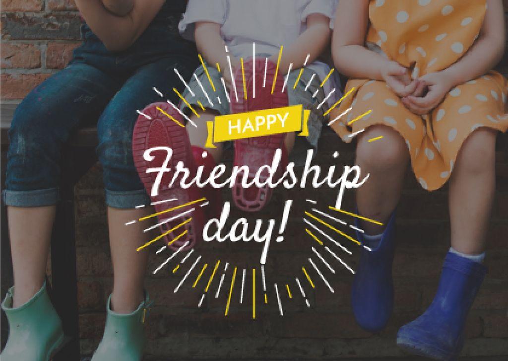 happy friendship day poster — Создать дизайн