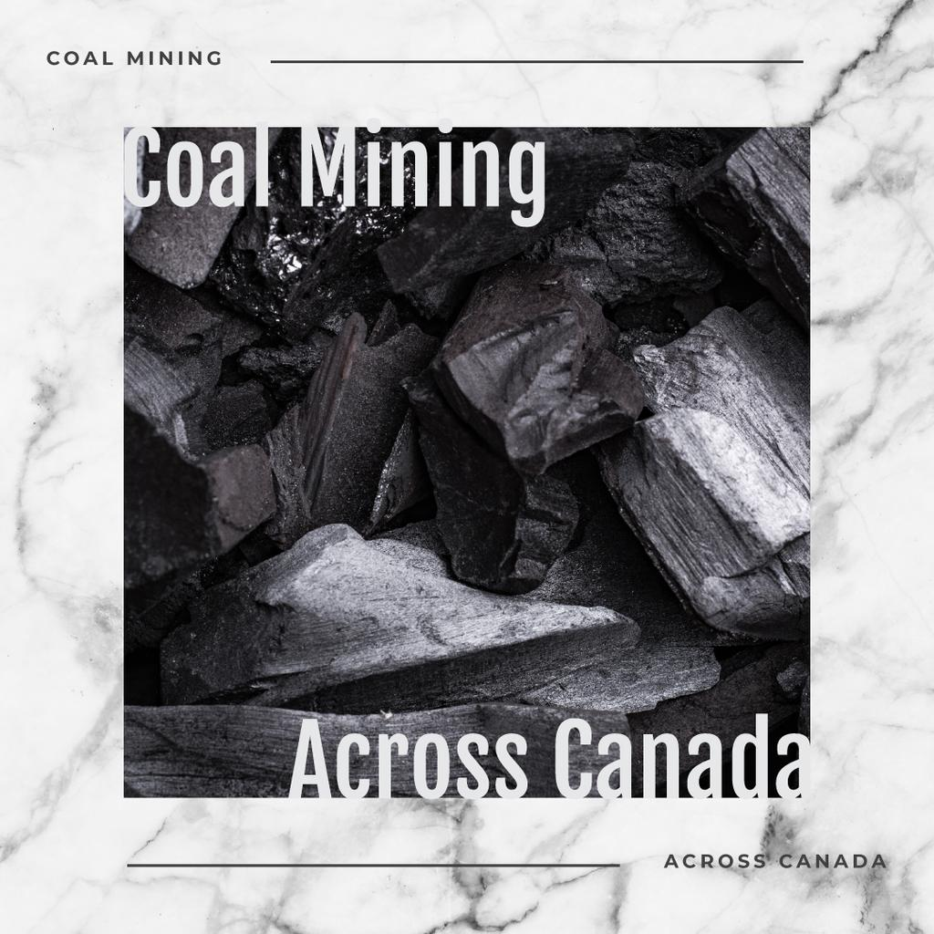 Black coal pieces — Create a Design