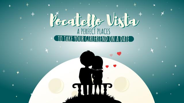 Modèle de visuel Loving Couple on a bench by the Moon - Full HD video