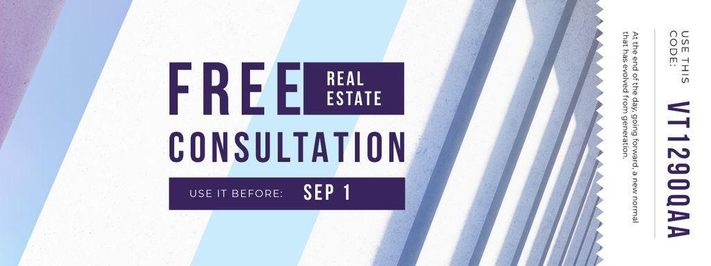 Gift Offer on Real Estate Consultation — Создать дизайн