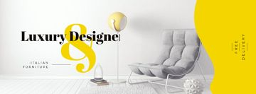 Cozy Luxury Interior with soft armchair