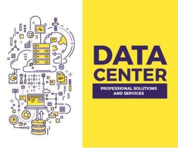 Data center poster