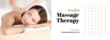 Massage Offer with Woman on Therapy session