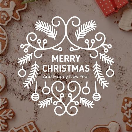 Template di design Christmas ginger cookies Animated Post