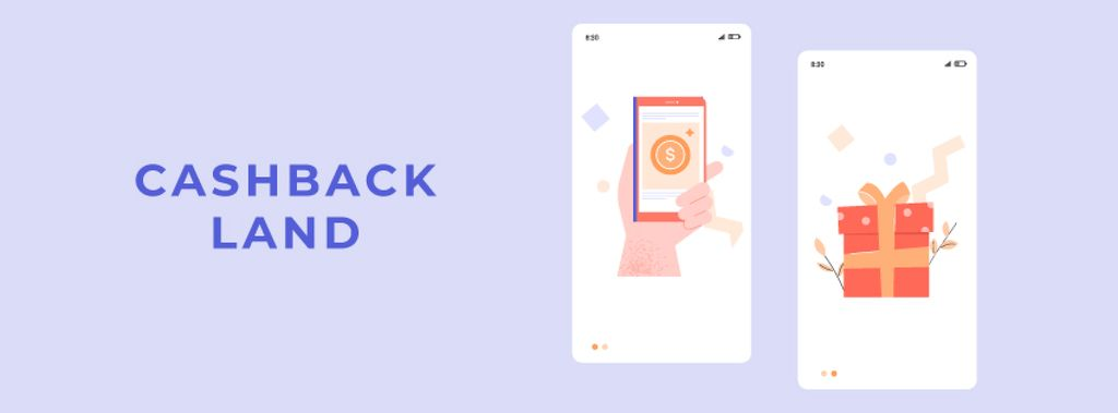 Cashback offer on Phone screen — ein Design erstellen