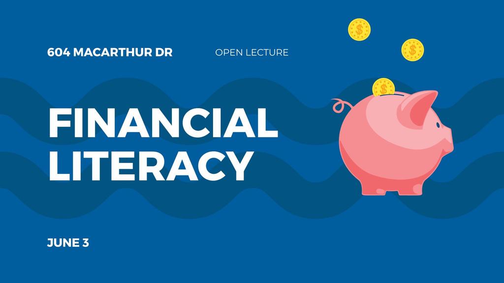 Coins Filling Piggy Bank —デザインを作成する