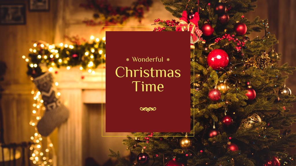 Wonderful Christmas Time — ein Design erstellen
