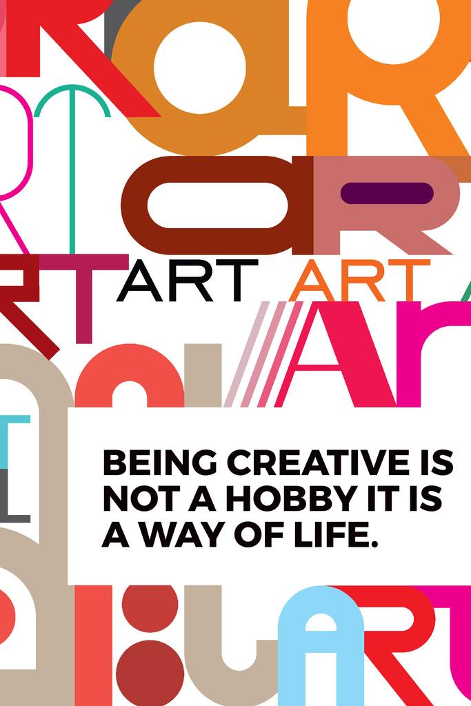 Citation about how to be a creative — Crear un diseño