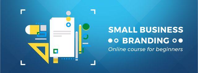 Business Branding file icon Facebook Video cover Tasarım Şablonu