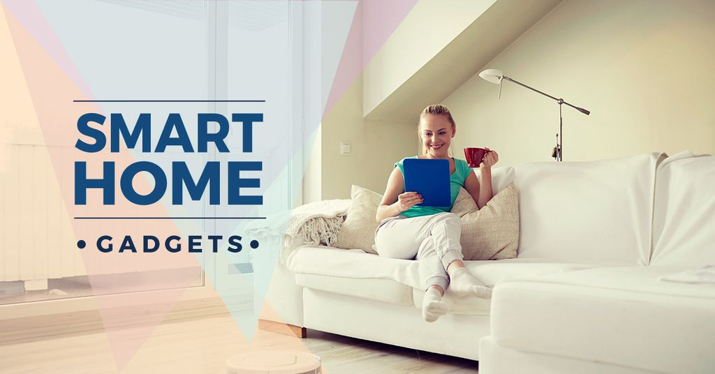 smart home gadgets poster  – Stwórz projekt