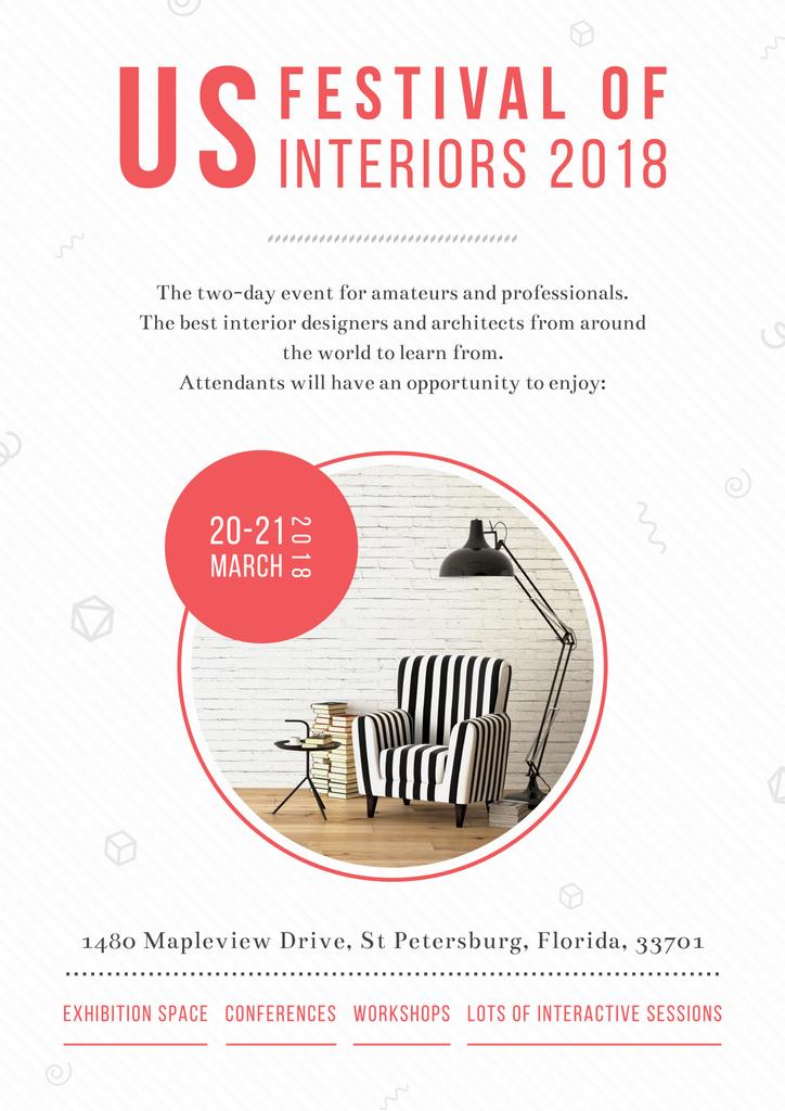 US festival of interiors 2018 — Modelo de projeto