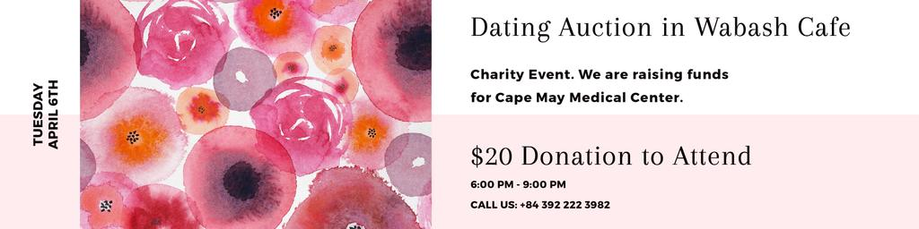 Dating Auction in Cafe — Crear un diseño