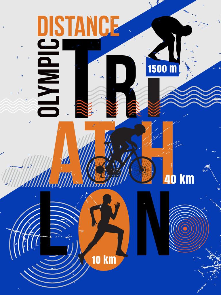 Triathlon distance race announcement — Create a Design