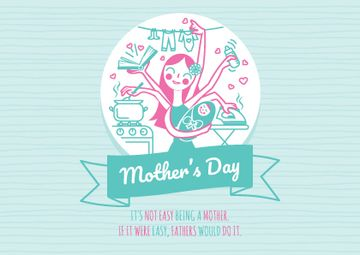Happy Mother's Day with Happy Mom