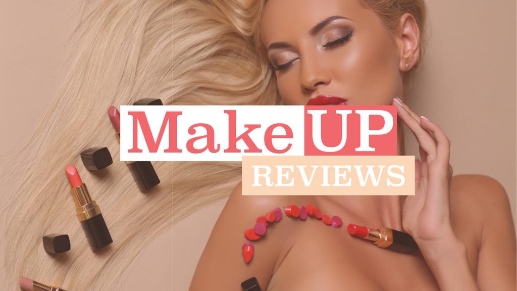 Makeup reviews poster — Create a Design