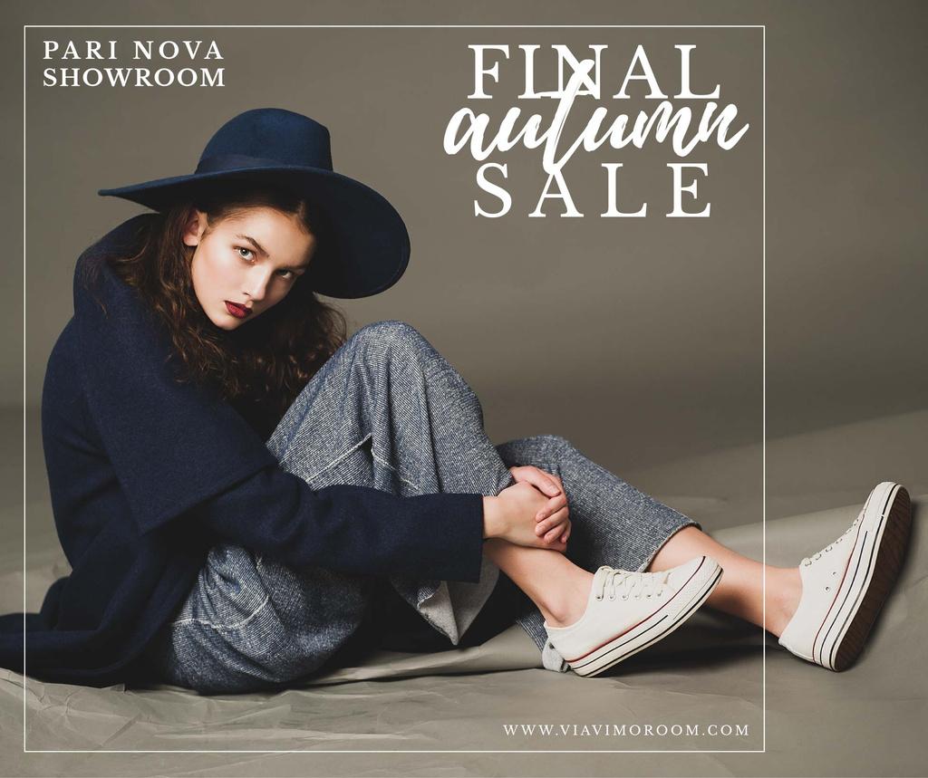 Final autumn sale advertisement — Создать дизайн