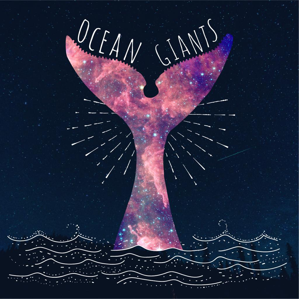 Ocean giants banner — Crea un design