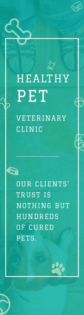 Healthy pet veterinary clinic — Создать дизайн
